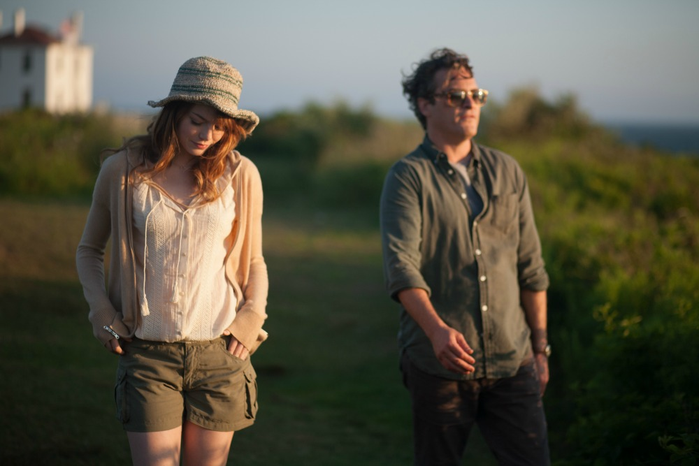 """Emma Stone and Joaquin Phoenix in Woody Allen's """"Irrational Man""""."""
