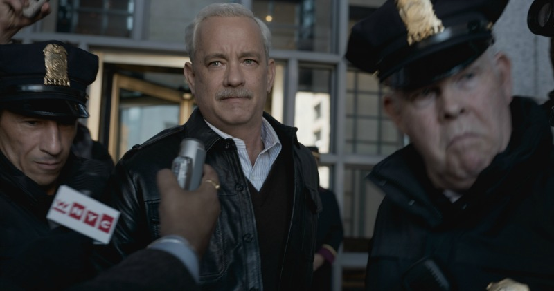 "Tom Hanks is true-life hero, Captain Chesley Sullengerger in the film, ""Sully""."