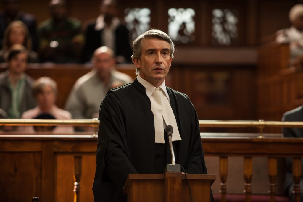 Steve Coogan is human rights lawyer, John Webber, called to stop the execution of a mass murderer.